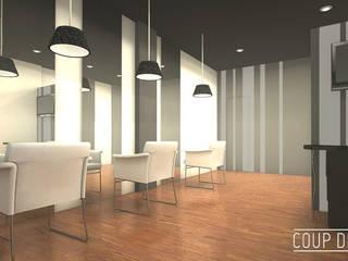 Espacio comercial-peluquería LORENA DOMINGO Oficinas y tiendas de estilo clásico de Coup de Grâce design & events Clásico