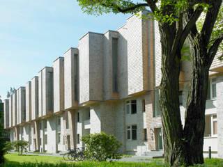 Treehouses Bebelallee von blauraum architekten