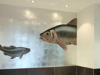 Badezimmer versilberung Moderne Badezimmer von Atelier Wandlungen GbR Modern