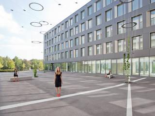 Bürogebäude Theresienhöhe 30 Moderne Bürogebäude von grabner huber lipp landschaftsarchitekten und stadtplaner partnerschaft mbb Modern