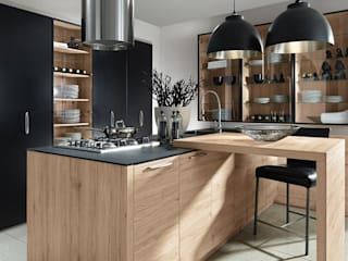Color / Sincrono - Anthracite / San Remo:  de style  par Schott Cuisines