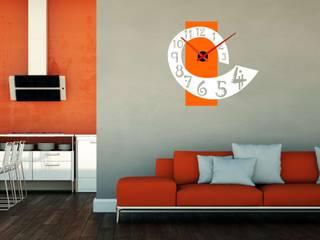Reloj de pared vinilo adhesivo:  de estilo  de relojesyvinilos