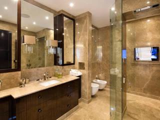 Fairways at the Bishops Avenue Modern bathroom by Celia Sawyer Luxury Interiors Modern