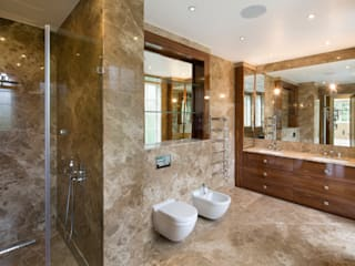 Fairways at the Bishops Avenue Modern bathroom by Celia Sawyer Luxury Interiors Modern