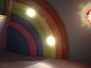Rainbow ceiling Kinderzimmer von Lancashire design ceilings