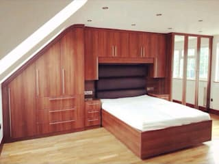 Loft wardrobes :   by Smiths fitted wardrobes Ltd