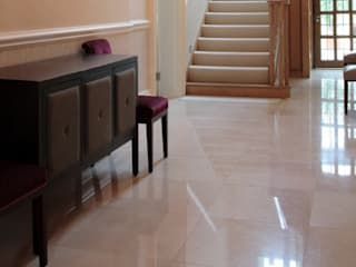 LONDON MARBLE HALL WAY par Tile Supply Solutions Ltd Moderne