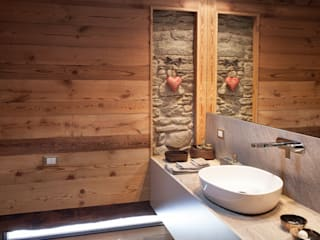 Scandinavian style bathroom by archstudiodesign Scandinavian