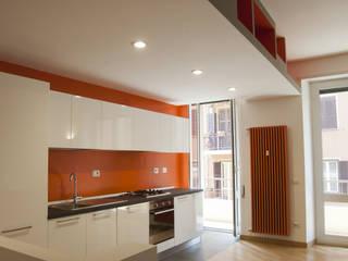 07am architetti KitchenCabinets & shelves
