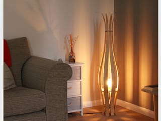 Imajica Floor Lamp: eclectic  by M-Dex Design, Eclectic