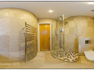 360 Shower Room: modern Bathroom by Hamilton 360