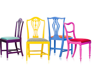 Klash Chairs Standrin Dining roomChairs & benches Solid Wood Multicolored