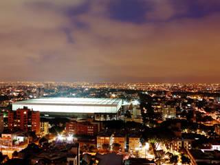 Arena Curitiba Espaços comerciais por Estudio Carlos Arcos