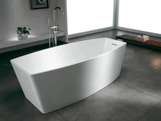 Bädermax freistehende Badewanen aus Mineralguss: moderne Badezimmer von Maxxwell AG