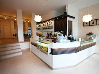 REALIZZATORI DI IDEE Moderne Geschäftsräume & Stores