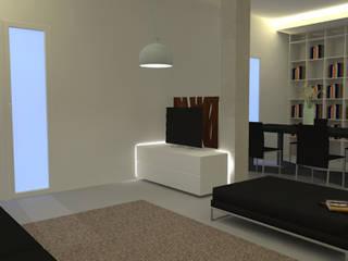 Salones de estilo moderno de REALIZZATORI DI IDEE Moderno