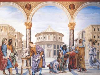 Affresco in stile rinascimentale:  in stile  di Farolfi Arte