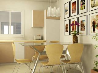 Piano terra - Cucina: Cucina in stile  di Caterina Paltrinieri Architetto
