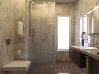 Mono Çatalçeşme Modern Banyo MONO MİMARLIK İNŞAAT Modern
