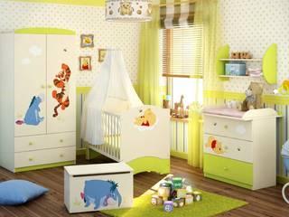 Babyzimmer Winnie Puuh: moderne Kinderzimmer von Möbelgeschäft MEBLIK