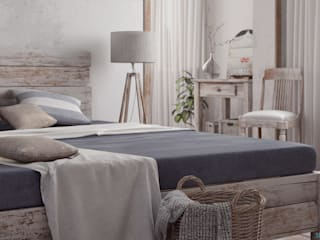 Vittorio Bonapace 3D Artist and Interior Designer Rustic style bedroom