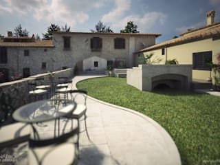Rustic style house by Vittorio Bonapace 3D Artist and Interior Designer Rustic