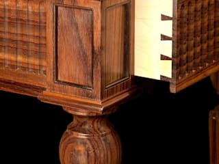 Drawer detail of Rosewood console table:   by Simon Harrison Furniture