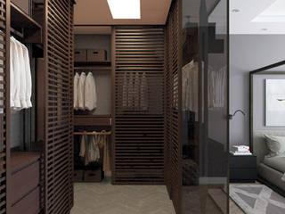 Closets minimalistas por Котова Ольга