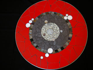 CREDEMO (CREation DEcoration MOsaique Living roomSide tables & trays
