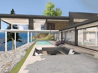 MAISON BIARRITZ Aménager une villa de bord de mer… par Camille&Tifany Moderne