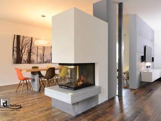 Kamin Feuerbank:   von betondesign-factory