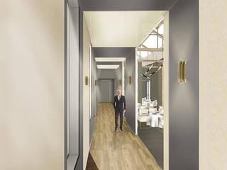 Penser un espace haut de gamme. par Camille&Tifany Moderne