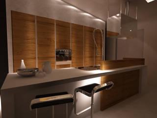CUCINA Cucina moderna di Studio di Segni Moderno