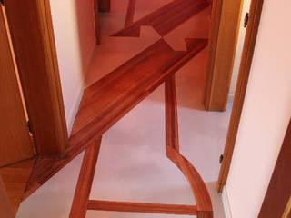 Peinture sur sol Couloir, entrée, escaliers par THIERRY HERR