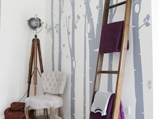 Birch Tree Forest wall sticker de Vinyl Impression Moderno