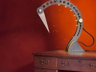 Crane Desk Lamp: industrial  by BLOTT WORKS, Industrial