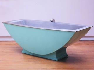 Two Seater Stainless Steel Bath: modern  by BLOTT WORKS, Modern