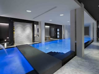 Basement Pool & Spa: modern Pool by Wilkinson Beven Design