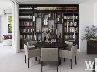 Modern Caribbean Villa Moderne Esszimmer von Wilkinson Beven Design Modern