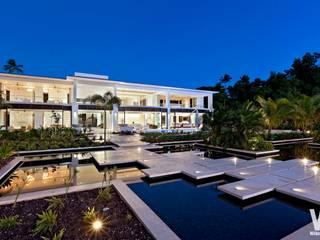 Modern Caribbean Villa Moderne Häuser von Wilkinson Beven Design Modern
