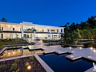Modern Caribbean Villa Maisons modernes par Wilkinson Beven Design Moderne