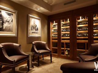 Wine Cellar Ausgefallene Weinkeller von Wilkinson Beven Design Ausgefallen