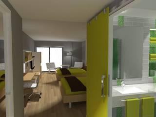 PROYECTO HOTELES SMARTBRAND / SMARTBRAND HOTELS PROJECT Hoteles de estilo moderno de Julia Design Moderno