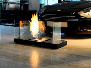 Bio-Ethanol Kamin – Home Flame Collection: modern  von Radius Design,Modern