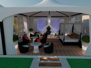 Terraza Chill-out / Chill-out terrace: Terrazas de estilo  de Julia Design
