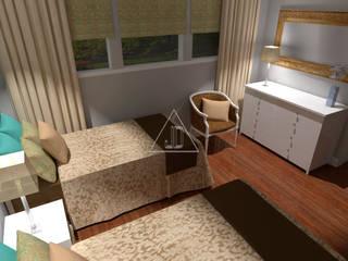 Proyecto estancia vacacional / Summer Home Project / Hamptons Style Casas de estilo rural de Julia Design Rural