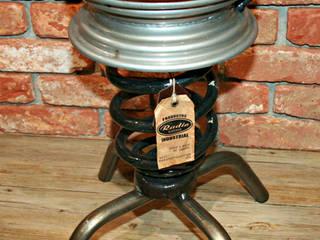 TABURETE MINI:  de estilo industrial de muebles radio vintage, Industrial