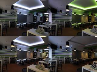 C2INTERIORISTAS Bar & Club in stile minimalista