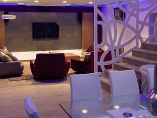 Salón / Comedor: Casas de estilo  de CANOCARTERETdesign&execution