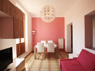 Projekty,  Salon zaprojektowane przez EMC2Architetti, Nowoczesny